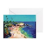 Calm Sea Thank You Cards (Pk of 10)