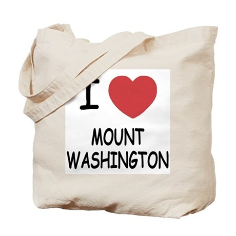 I heart mount washington Tote Bag