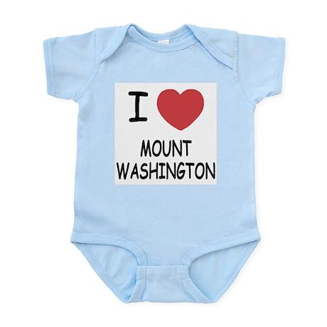 I heart mount washington Infant Bodysuit