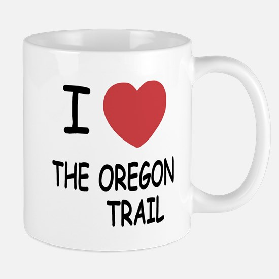 I heart the oregon trail Mug