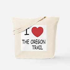 I heart the oregon trail Tote Bag