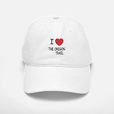 I heart the oregon trail Baseball Baseball Cap