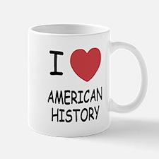 I heart american history Mug