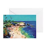 La Jolla Cove Picture Greeting Card