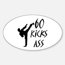 Funny Karate birthday Decal