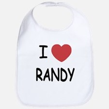 I heart randy Bib
