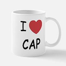 I heart cap Mug