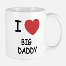 I heart big daddy Small Small Mug