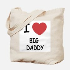 I heart big daddy Tote Bag