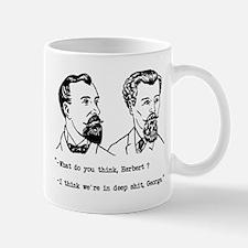George and Herbert Mug