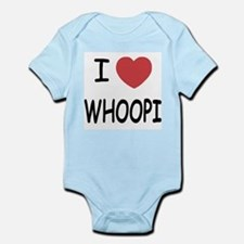 I heart whoopi Infant Bodysuit