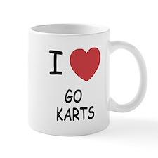 I heart go karts Mug