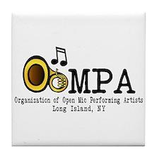 OOMPA w/ venues Tile Coaster