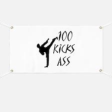 Karate birthday Banner