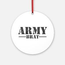 ARMY BRAT Ornament (Round)