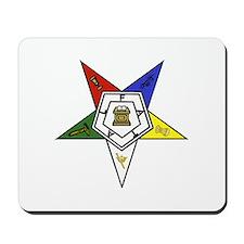 O. E. S. Emblem Mousepad
