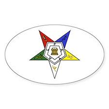 O. E. S. Emblem Decal