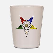 O. E. S. Emblem Shot Glass