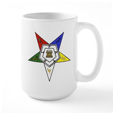 O. E. S. Emblem Large Mug