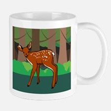 Fawn in the Forest Mug