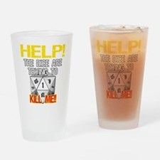 Killer Dice Pint Glass