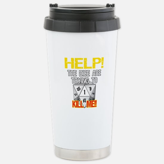 Killer Dice Stainless Steel Travel Mug