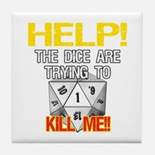 Killer Dice Tile Coaster