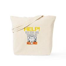 Killer Dice Tote Bag