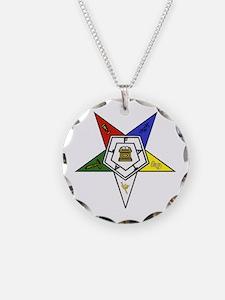 O. E. S. Emblem Necklace
