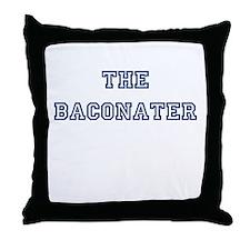 The Baconater Throw Pillow