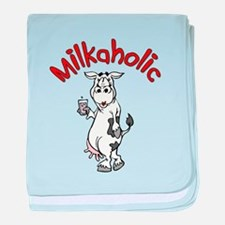 Milkaholic baby blanket