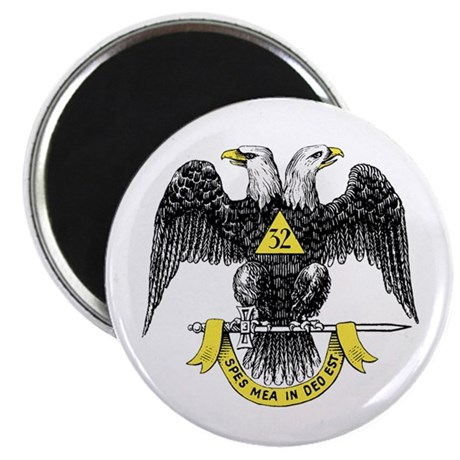 """32nd Degree 2.25"""" Magnet (10 pack)"""