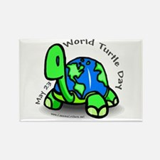 World Turtle Day Rectangle Magnet (10 pack)
