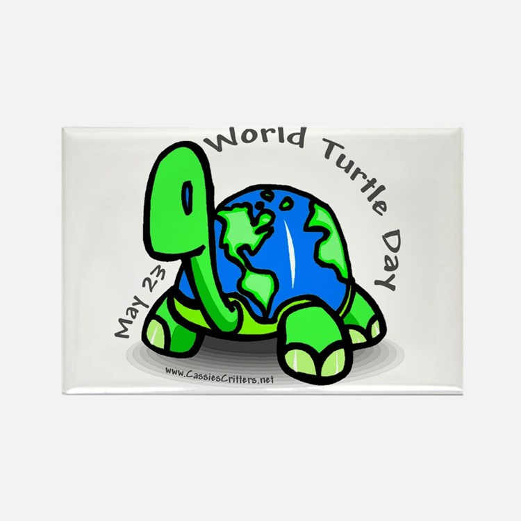 World Turtle Day Rectangle Magnet