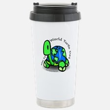 World Turtle Day Travel Mug