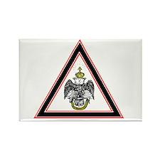 Scottish Rite Emblem Rectangle Magnet