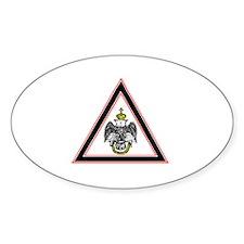 Scottish Rite Emblem Decal