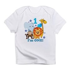 First Birthday Jungle Infant T-Shirt