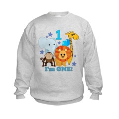 First Birthday Jungle Sweatshirt