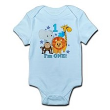 First Birthday Jungle Infant Bodysuit
