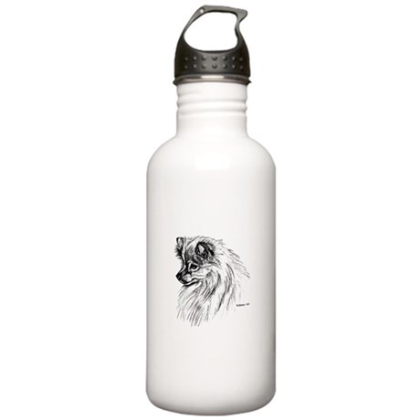 Pomeranian Stainless Water Bottle 1.0L