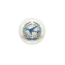 Cute Baby pilot Mini Button (10 pack)