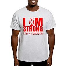 I am Strong Blood Cancer T-Shirt