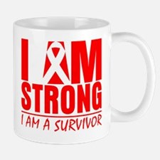 I am Strong Blood Cancer Mug