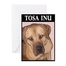 Tosa inu Greeting Cards (Pk of 10)
