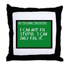 Teaching Philosophy Throw Pillow