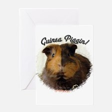 Guinea Piggin Greeting Card