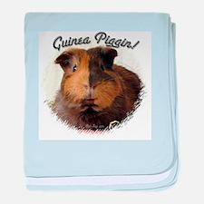Guinea Piggin baby blanket
