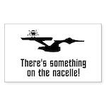 Something on the Nacelle! Sticker (Rectangle 50 pk