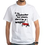 Star Trek Wagon White T-Shirt